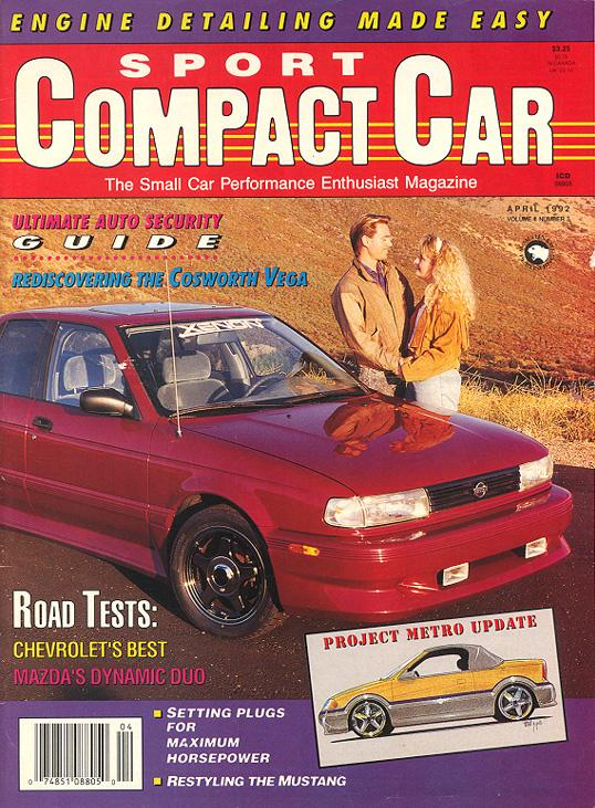 [click The Thumbnail For Larger Version]. As This 1992 Issue Of Sport  Compact Car ...